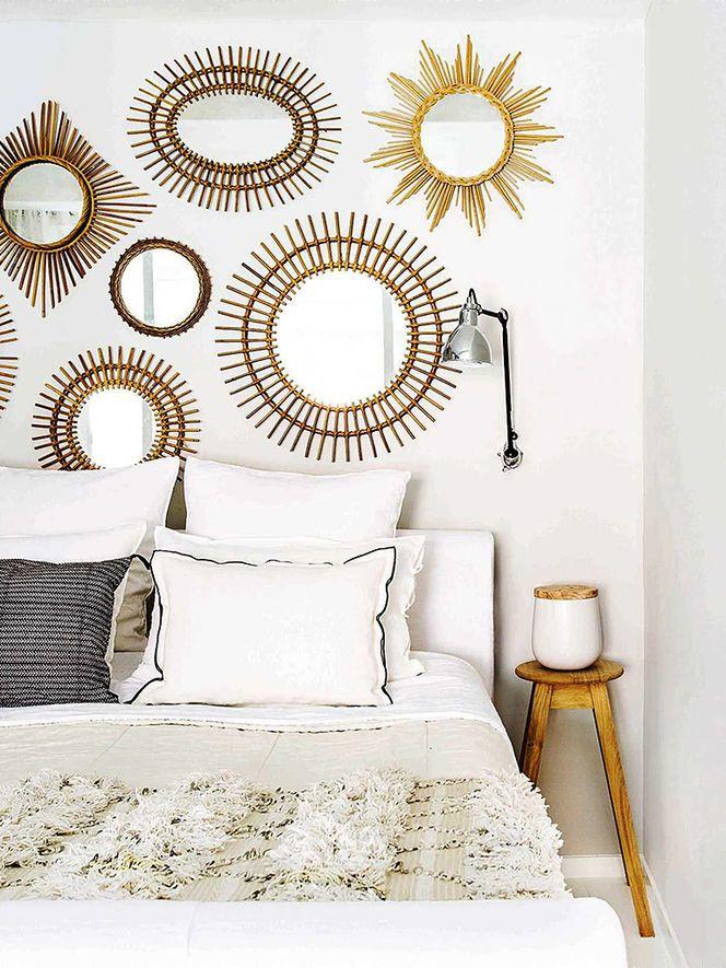 Sunburst collection, hotel bedding, sconce