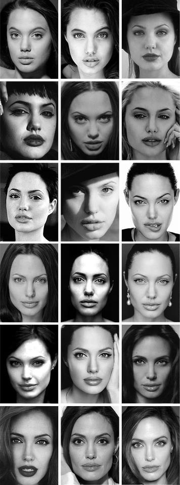 Angelina Jolie...her young pictures vaguely look like her