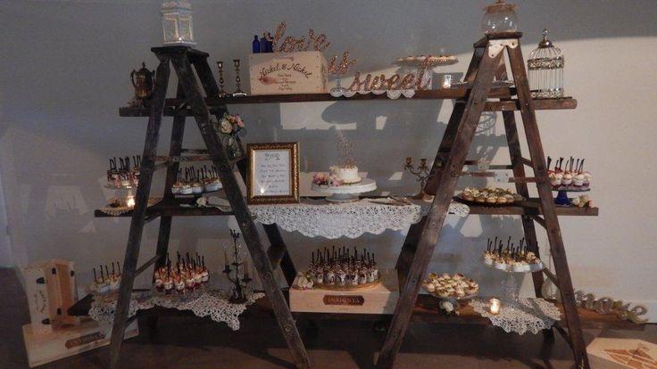 17 Best Ideas About Ladder Display On Pinterest Wedding