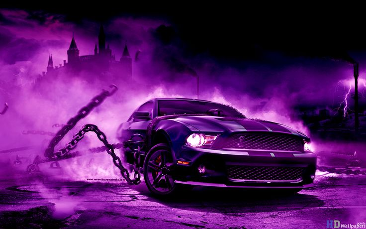 Cool 3D Wallpapers Purple
