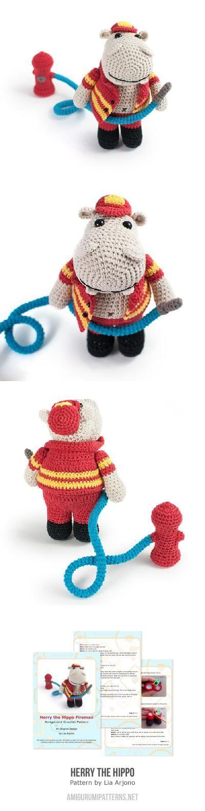 13 best Amigurumi Hipoo images on Pinterest | Juguetes de ganchillo ...