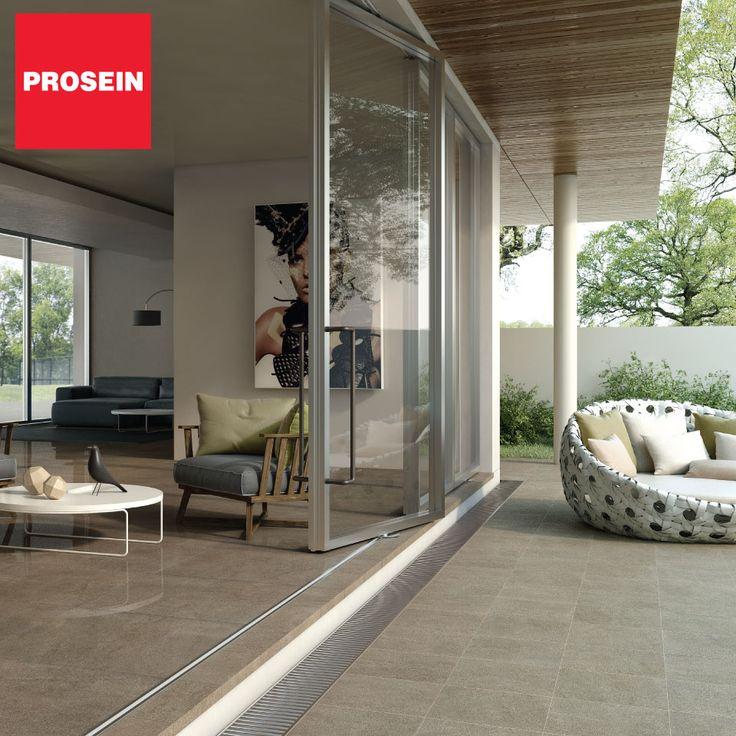 Una terraza ideal comunica el interior con el exterior con el mismo tipo de piso dando continuidad.
