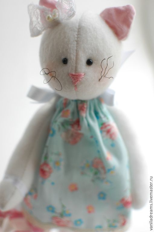 Платье для тильда-кошки