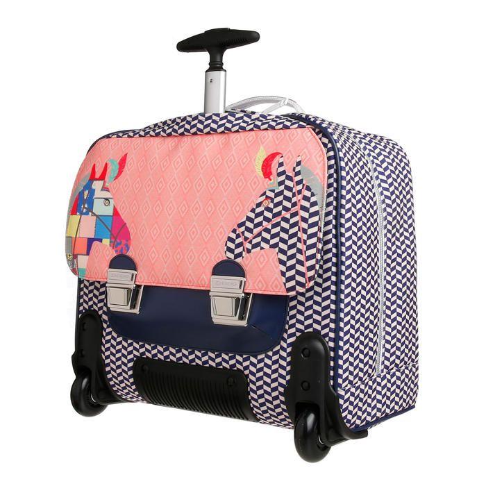 Cartable It-bag à roulettes Cavalerie Royale Jeune Premier pour Fille