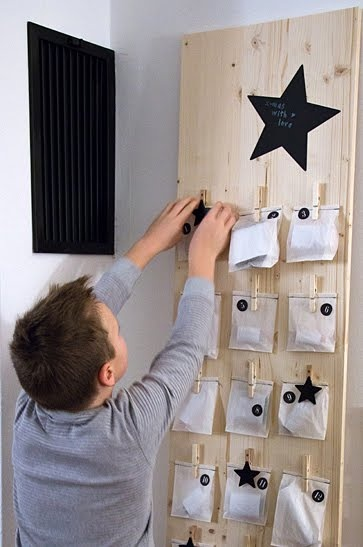 DIY adven calendar ! @little minimalist