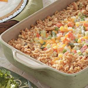 If you've ever had the Spring House's Alabama Vegetable Casserole, This is as close as it gets.