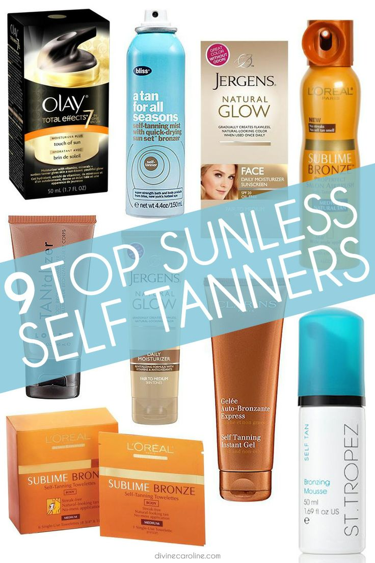 If you want to get a safe jump start on your summer color, check out our roundup of the best self-tanning products for a sun-free glow! #skin #sun #tanning