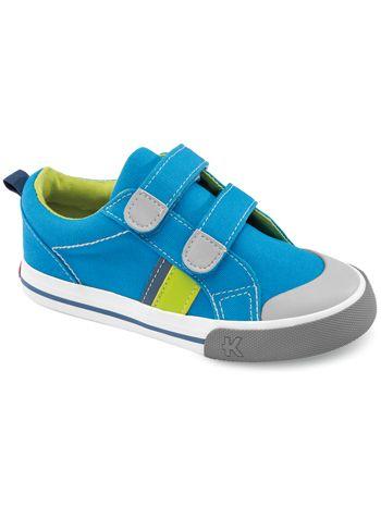 Kai by See Kai Run Trip Blue available at www.tinysoles.com! #TinySoles