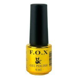 Топ F.O.X Top Coat Strong - верхнее покрытие для гель-лака, 6 мл #gellak #shellac #маникюр #ногти #шеллак #гельлак #manicure