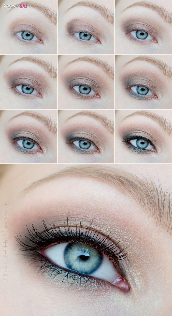 Make up dzienny, rozświetlający - Pokazujemy krok po kroku wykonanie...