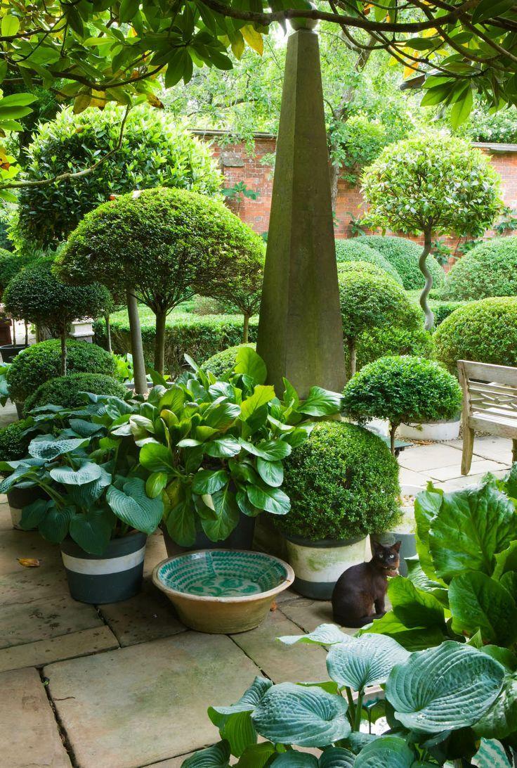 Anouska Hempel Design / repinned by Llewellyn Landscape & Garden Design www.llgd.co.uk - design | create | maintain