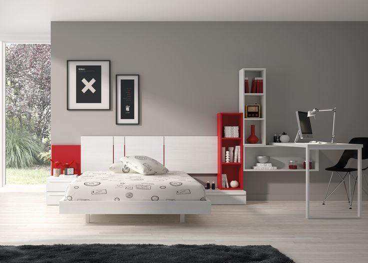 #habitación moderna senior de @mubelesros. Marca la diferencia con el resto