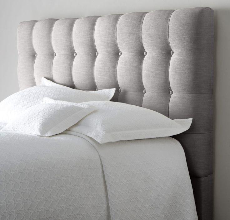 тканевое оформление изголовья кровати