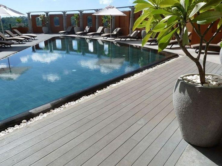 29 best on deck images on pinterest backyard patio - Pavimentazione esterna ...