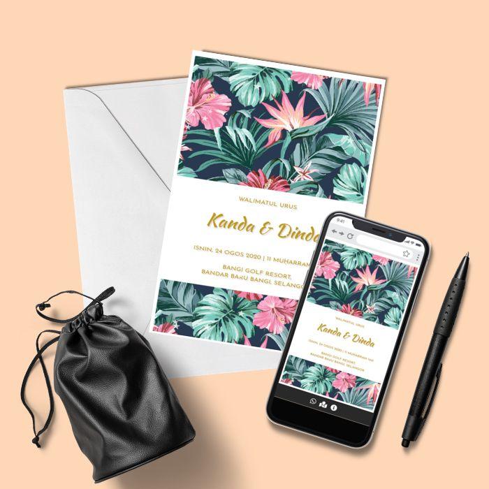 Design By Inspirasi Kad Kahwin Kad Kahwin Design Online Invitations Kad Kahwin