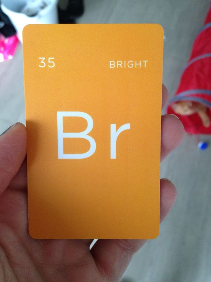 My hotel key card reminds me of a periodic table element http://ift.tt/2cVHSCD