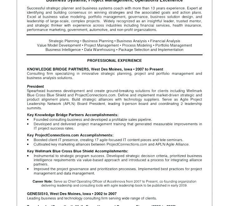 Portfolio Management Resume Sample