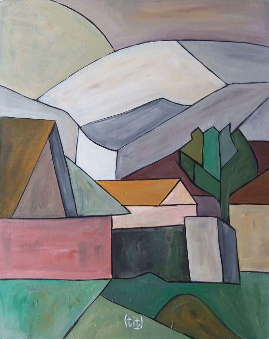 """Vladimir Titov (Mees) - grijze landschap  Artiest: Vladimir Titov (Mees)Techniek: acryl aan boordTitel: Composition abstract """"grijs landschap""""Grootte (incl. rand): 71 x 59 cmGrootte (excl. frame): 62 x 50cmJaar: 2017Conditie: Zeer goedIn de voorkant ondertekend: (Mees)Ingelijst in een houten frame (zoals afgebeeld)De scheepvaart is op kosten van de koper.  EUR 1.00  Meer informatie"""
