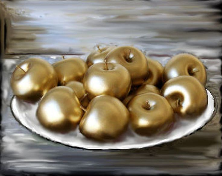 Proverbs 2511 Like Apples Of Gold In Silver Carvings Is A