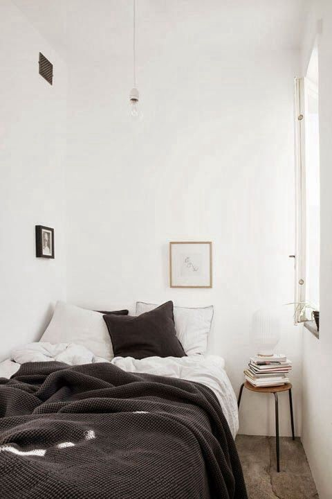 17 best images about interiors cozy on pinterest bed for Cozy minimalist interior