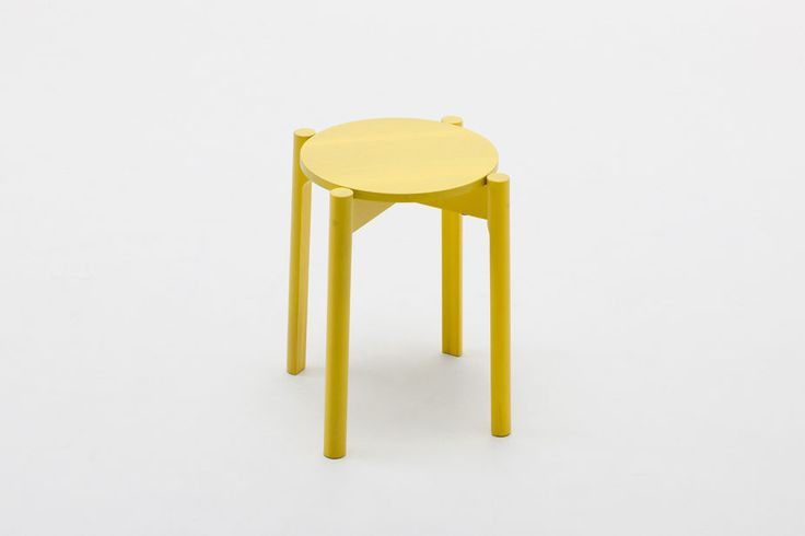Castor Stool by Big-Game for Karimoku New Standard. Available from Stylecraft.com.au