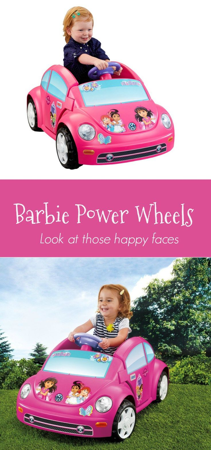 power wheels barbie Volkswagen - How happy your child's face will be when they see this wonderful little electric car under the tree. http://xacey.com/power-wheels-barbie-volkswagen-new-beetle/
