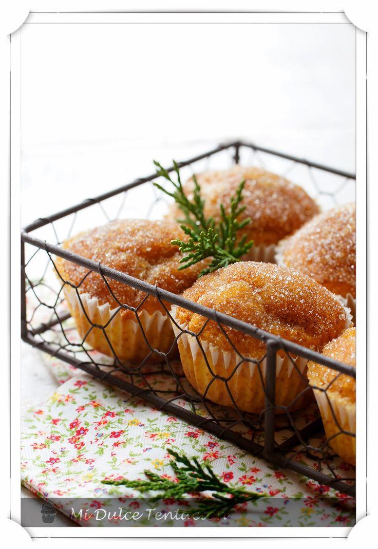 Mi dulce tentación: Magdalenas de Flan con Caramelo Crujiente