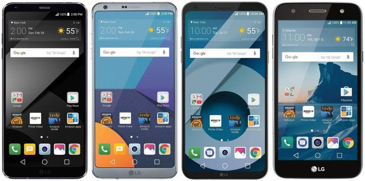 تخفيض على هواتف LG G6 G6 Q6 X Charge في أمازون لمشتركي برايم