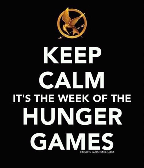 Happy Hunger Games Week :)