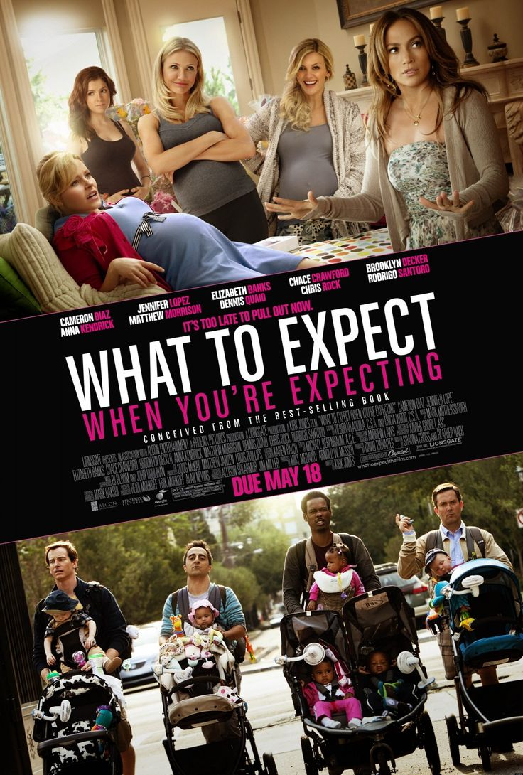 New movie out soon What to expect when you're expecting with Jennifer Lopez, Chris Rock and Cameron Diaz
