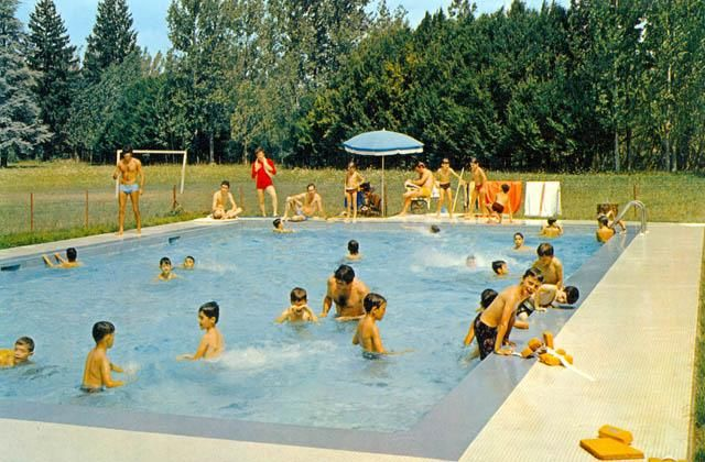 La piscine - Colonie de Vacances Sud-Aviation