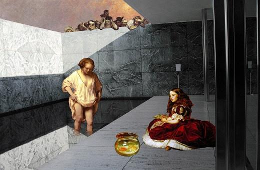 Tint Gallery :: Past exhibitions (Georgia Kotretsos, Artemis Potamianou, A. Potamianou, Re-view series: Barcelona Pavilion)