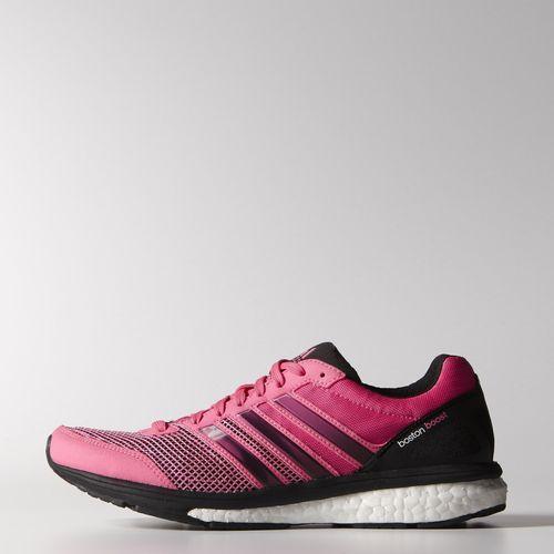 Aún sin estrenar, pero ya los tengo :)  adidas - Zapatos para Correr adizero Boston Boost 5 Mujer Solar Pink / Solar Pink / Core Black M18815