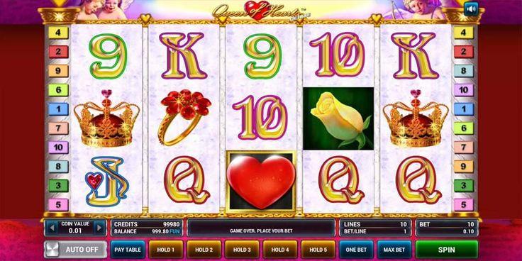 Игровой автомат queen of hearts дама червей онлайн бесплатно ставок
