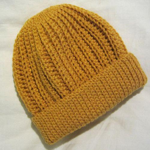Free Crochet Pattern Mens Winter Hat : 1000+ ideas about Crochet Hat Men on Pinterest ...