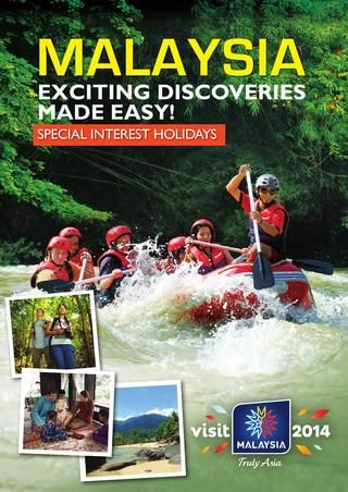 Brochure on  Tourist Activities in Malaysia. See more brochures in Bookletia Travel Destinations Library.