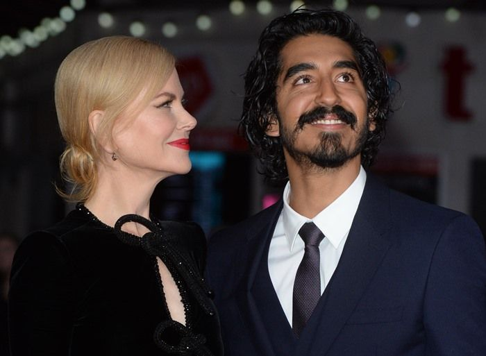 Dev Patel and Nicole Kidman at the screening of their new movie 'Lion' held during the 2016 BFI London Film Festival at Odeon Leicester Square in London on October 12, 2016