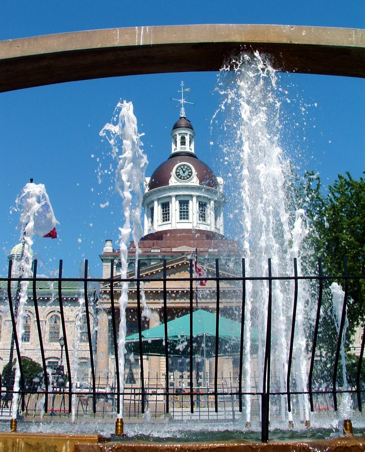 Kingston City Hall.  Kingston, Ontario. Image by Rediscovering Canada