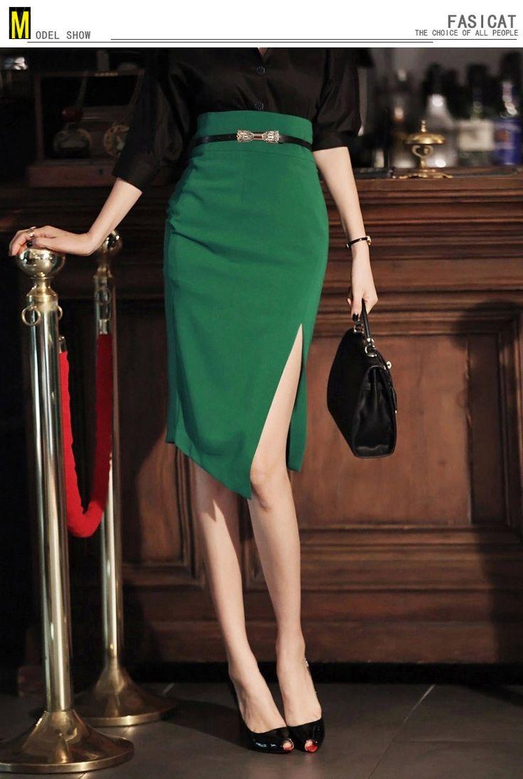 Fasicat 2015 мода летом женская юбка элегантный тонкий ретро свободного покроя высокая талия юбки карандаш для женщин офис леди работа 152110купить в магазине FASICATнаAliExpress