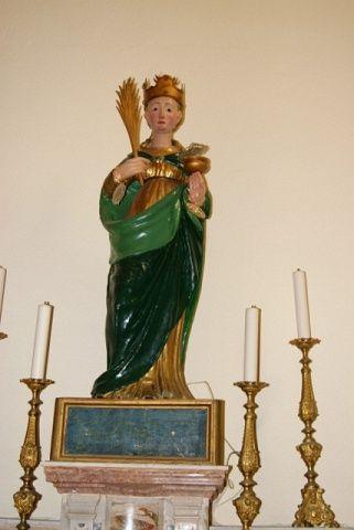 Sant'Agata nella  Basilica Cattedrale di Taormina
