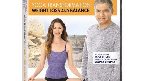 Our review of the workout DVD: Deepak Chopra & Tara Stiles: Yoga Transformation: Weight Loss & Balance.