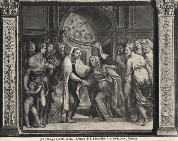 Sodoma, visitazione - Oratorio della Compagnia di San Bernardino - Wikipedia