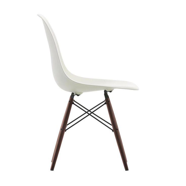Vitra: Hersteller - Vitra - Eames Plastic Side Chair DSW Ahorn dunkel H41cm