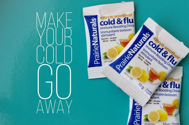 Make your cold go away! Citrus Soother from www.prairienaturals.ca