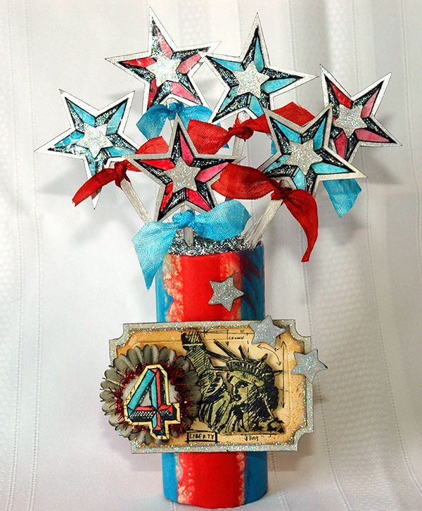 Happy Independence Day! Wishing you a safe and fun celebration from Cross.comJuly Celebrities, Fourth Of July, Distressed Fourth, Mixed Media, 4Th Of July, July Firecracker, 4Th July, July 4Th, Crafts