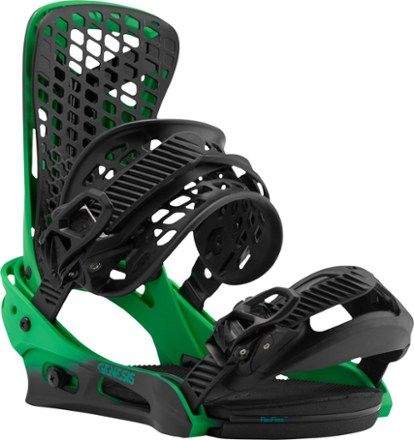 Jake Burton's binding of choice, the Genesis snowboard bindings feature supercharged suspension and comfort that redefines the luxury class. Available at REI, 100% Satisfaction Guaranteed.