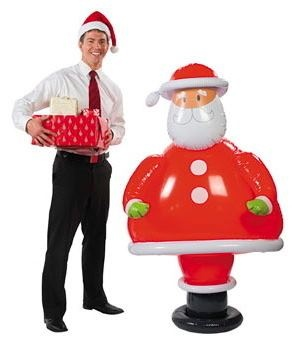 These fantastic airblown inflatables are an instant outdoor Christmas decoration that will certainly get your house noticed.