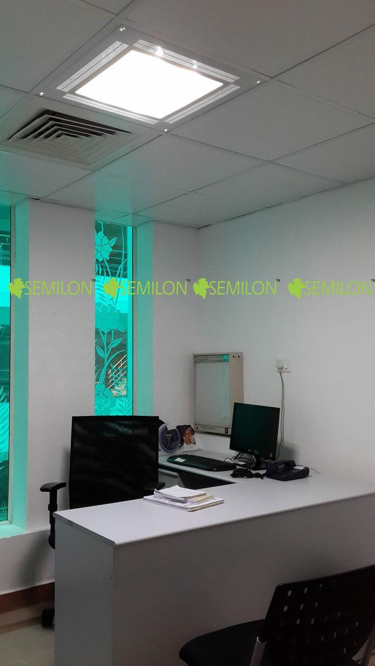 Semilon LED panel office lighting