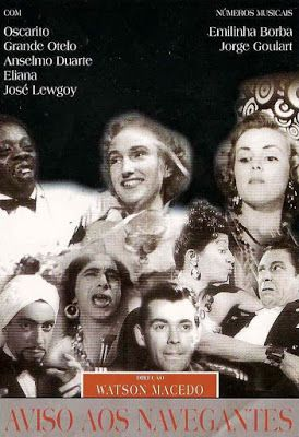 projetor antigo: Aviso aos Navegantes 1950 Bras avi  1950 , Anselmo Duarte , Comédia/Musical , Dublado , Eliana , Grande Otelo , José Lewgoy , Oscarito , Watson Macedo