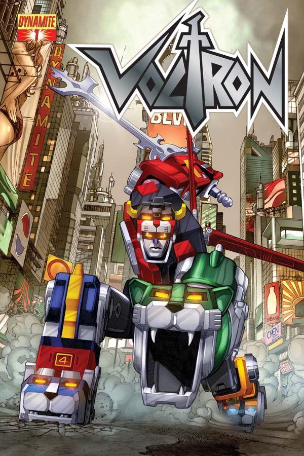 Dynamite® Voltron 1 Voltron, Voltron comics, 80s cartoons